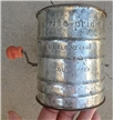 Antique Cookware Metal Brite-Pride Flour Sifter
