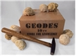 Boxed Break Open Moroccan Geodes Gift Pack (10 Geodes)