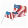 Large Cloth USA Flags- pack of 12 - 12