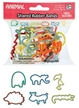 Animal Shaped Rubber Bands, kids rubber bands, animal shapes, kids animal toys, animal variety