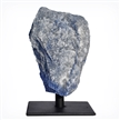 Blue Quartz on Metal Base 5""
