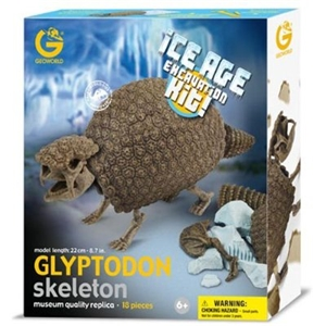 Geoworld Ice Age Excavation - Glyptodon Skeleton