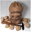 Gift Bag Break Your Own Geodes 5 lbs - 20 Whole Moroccan Geodes 2
