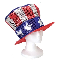 US Sequin Hat- Adult