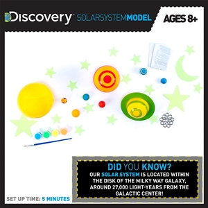Discovery 3D Solar System D I Y  Kit