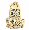 50 Break Your Own Geodes Crystals Bulk Pack - Whole Moroccan 1.5""