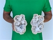 "6"" Saw Cut Geode Halves 