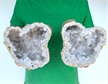 "7"" Saw Cut Geode Halves 