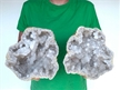 "8"" Saw Cut Geode Halves 
