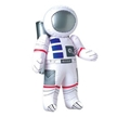 "Inflatable Astronaut 23""Tall, inflatable toy, astronaut toy, space toy, inflatable astronaut toy, sp"