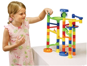 Marble Run Playset 55-pc