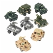 Pull Back Army Vehicles- 12 pack