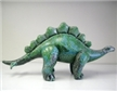 Stegosaurus Green Inflatable Dinosaur