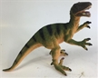 Small Hard Plastic Velociraptor Dinosaur Toy Model