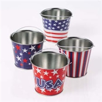 Mini Patriotic Bucket