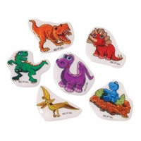 Dino Puffy Stickers- 72 pack
