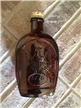 Vintage Log Cabin Syrup Bottle Glass