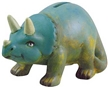 Paint-A-Bank Kit Triceratops