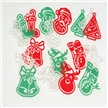 Holiday Stocking Stuffer - Christmas 2-N-1 Stencils and Bookmark