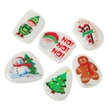 Holiday Stocking Stuffer - 72 Piece Christmas Puffy Stickers