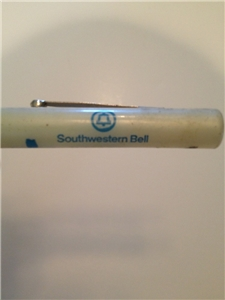 Old Vintage Southwestern Bell Flathead Screwdriver Advertising Ready Tool