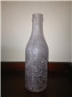Vintage Hughes Bros Mfg Co Soda Bottle Dallas Texas Tx Straight Side