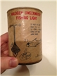 Old Vintage Halogen Underwater Fishing Light Tin Metal Can Cabin Decor Austin TX