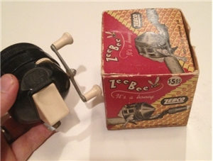 Vintage Zeebee Zebco Model 202 Reel With Box Cabin Decor