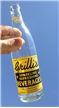 Vintage Grillis Beverage ACL Soda Bottle Detroit Michigan MI 12 Oz