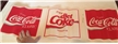 Coca Cola & Diet Coke Store Signage Wrap Around Cardboard Material