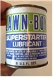 Vintage Lawn Boy Superstarter Lubricant Oil Metal Can 8 Oz Full Sealed