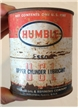Vintage Humble Esso Upper Cylinder Lubricant Oil Metal Tin Can 1 Pint Full