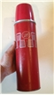 Vintage Metal Thermos Polly Red Top Icy Hot Norwhich Conneticut