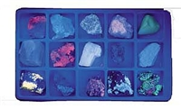 Fluorescent Minerals Short Wave Science Kit