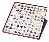 Rocks & Minerals of U.S. Basic Colletion - 35 pieces, rock kit, kids rock collection, minerals