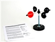 Anemometer - Determine Wind Speed, simple device, science toys, science gadget, wind speed