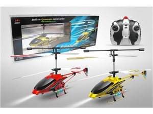 Infrared RC Helicopter Aeroquest Gold Edition Red