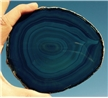 Large Blue Agate Slab Sliced Polished 5