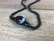 Agate Stone Necklace | Large Healing Agate
