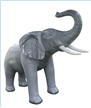7 Foot Tall Inflatable Lifelike Elephant, giant inflatable animals, yard decorations