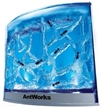 AntWorks Illuminated Led Blue - NASA Gel Experiment