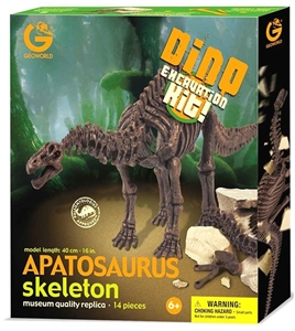 Geoworld Dinosaur Skeleton Excavation Kit - Apatosaurus