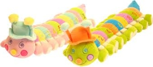 Babyboo Medium 123's Caterpillar - Green Pastel