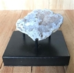 Moroccan Cut Geode Crystals on Metal Base 3.25""