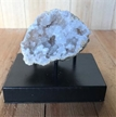 Moroccan Cut Geode Crystals on Metal Base 3""