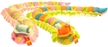 Babyboo ABC's Caterpillar Pastel 5 ft. - green head