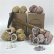Variety Pack Break Your Own Amethyst | Moroccan Geodes | Boxed Gift Packs (15 Geodes)