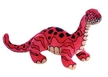 "16"" Red Brachiosaurus Stuffed Animal"