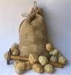 40 Break Your Own Geodes Bulk Pack - Whole Moroccan Geodes 1.5""