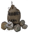 Large Break your own Geodes Gift Bag - 6 Pack